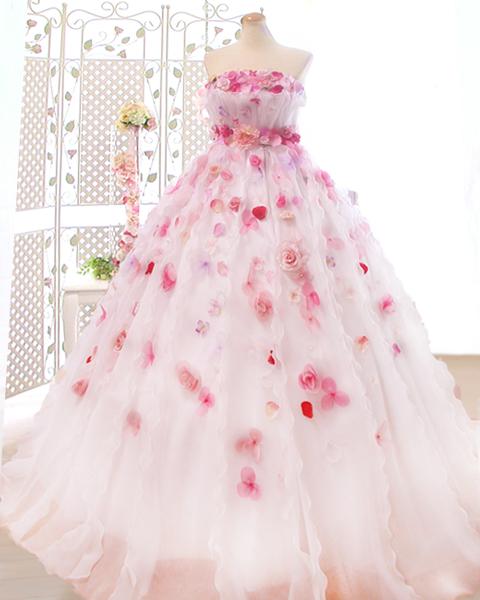 可愛い人気NO.1ドレスのお花ドレス