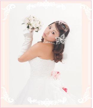 オーダードレスの結婚写真(フォトプラン)