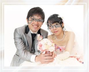 結婚写真のフォトプランのイメージショット