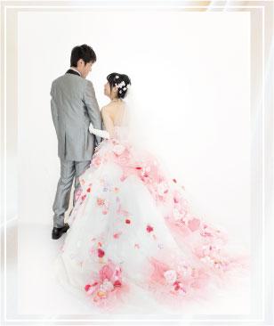 写真の結婚式。フォトプラン