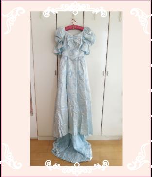 ドレスリメイク前のドレス
