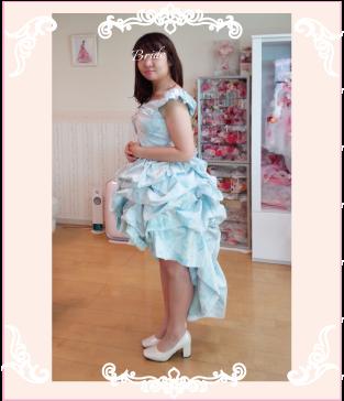 ドレスリメイクしたドレス