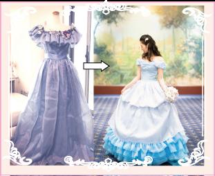 お母さまドレスのリメイク実例