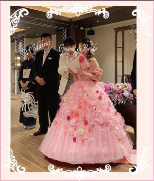 実際の結婚式のお写真